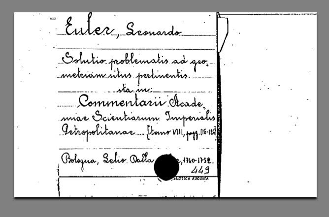 schedario eulero